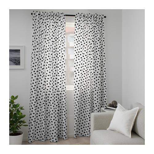 SKÄGGÖRT - 布料, 白色/黑色 | IKEA 香港及澳門 - PE682858_S4