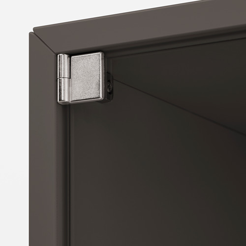EKET - wall cabinet with glass door, dark grey | IKEA Hong Kong and Macau - PE770378_S4
