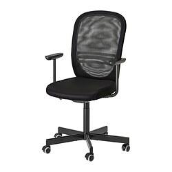 FLINTAN - office chair with armrests, black   IKEA Hong Kong and Macau - PE825960_S3