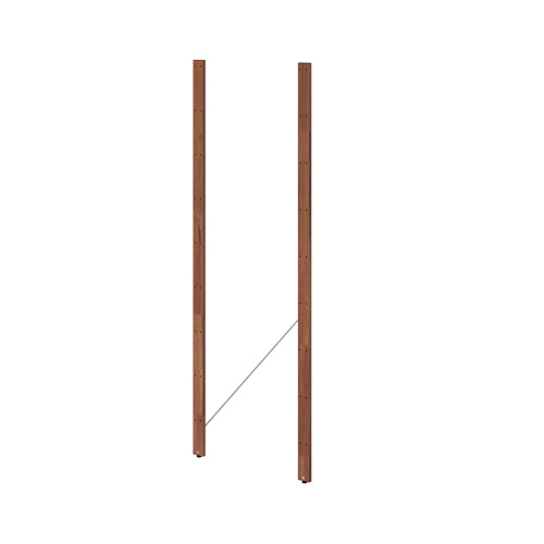 TORDH - 側柱,戶外用, 染褐色   IKEA 香港及澳門 - PE770385_S4