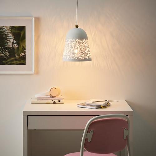 SOLSKUR - pendant lamp, white/brass-colour | IKEA Hong Kong and Macau - PE770391_S4