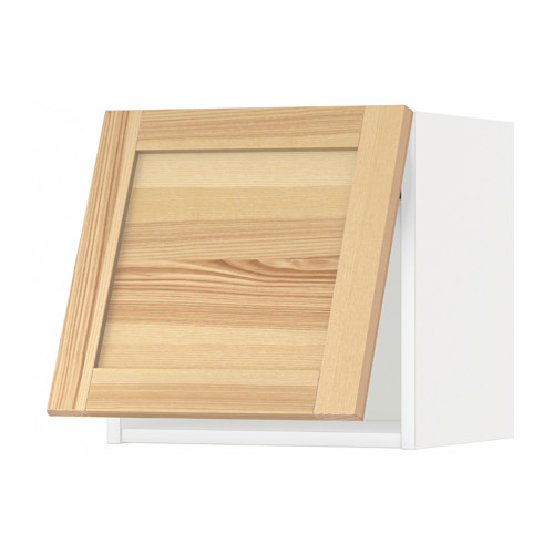 METOD - wall cabinet horizontal w push-open, white/Torhamn ash | IKEA Hong Kong and Macau - PE567966_S4