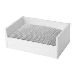 LURVIG - 寵物床連咕, 白色/淺灰色   IKEA 香港及澳門 - PE770419_S3
