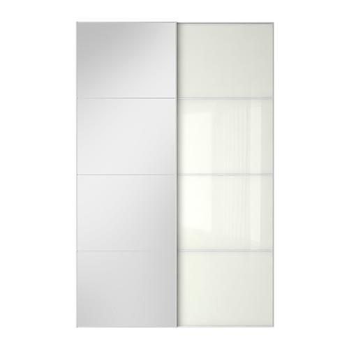 AULI/FÄRVIK pair of sliding doors