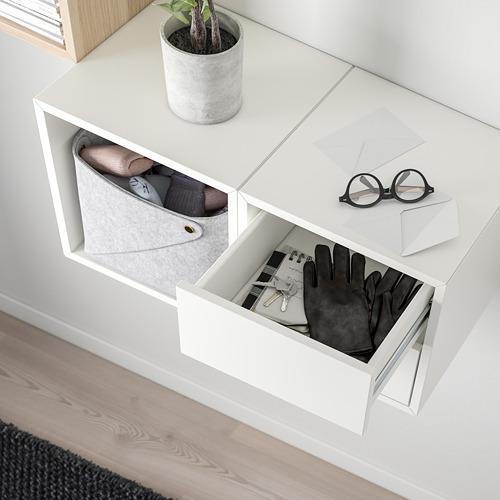 EKET - 上牆式貯物組合, 染白橡木紋/白色 | IKEA 香港及澳門 - PE770567_S4