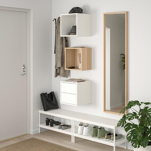 EKET - 上牆式貯物組合, 染白橡木紋/白色 | IKEA 香港及澳門 - PE770568_S4