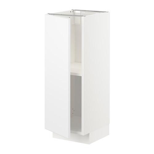 METOD - 地櫃連層板, 白色/Kungsbacka 啞白色   IKEA 香港及澳門 - PE726448_S4