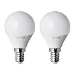 RYET - LED 燈膽 E14 250流明, 球形 奶白色 | IKEA 香港及澳門 - PE770641_S3
