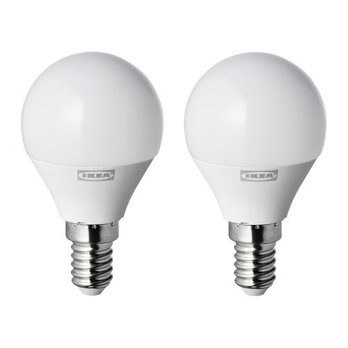RYET - LED 燈膽 E14 250流明, 球形 奶白色 | IKEA 香港及澳門 - PE770641_S4