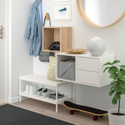 EKET - 上牆式貯物組合, 染白橡木紋/白色 | IKEA 香港及澳門 - PE770648_S4