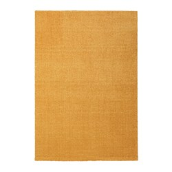 LANGSTED - rug, low pile, yellow | IKEA Hong Kong and Macau - PE726548_S3