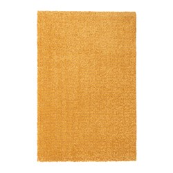 LANGSTED - rug, low pile, yellow | IKEA Hong Kong and Macau - PE726547_S3