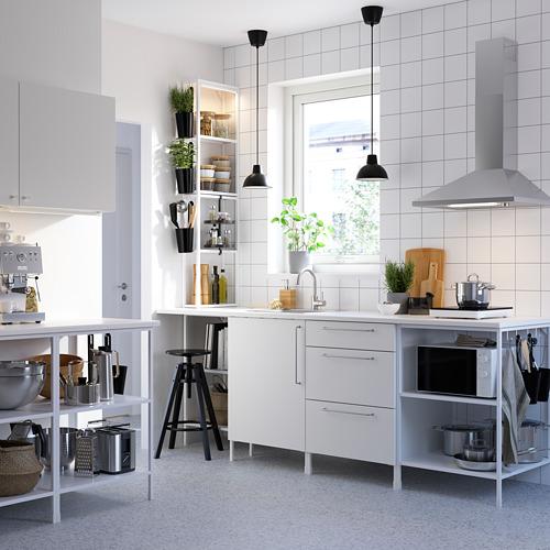 ENHET - 上牆式貯物架組合, 白色 | IKEA 香港及澳門 - PE783169_S4