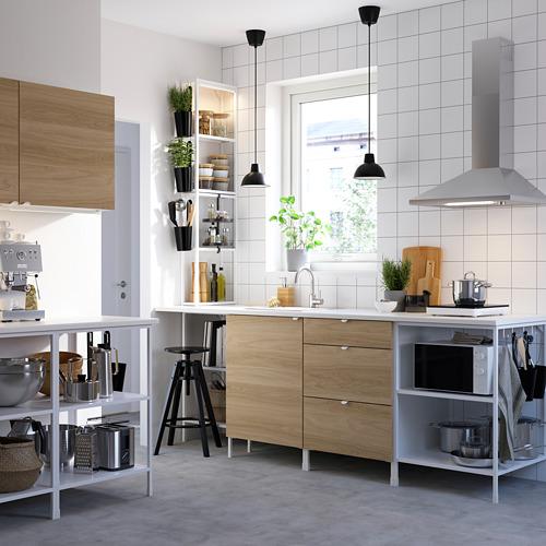 ENHET - 上牆式貯物架組合, white/oak effect   IKEA 香港及澳門 - PE783172_S4