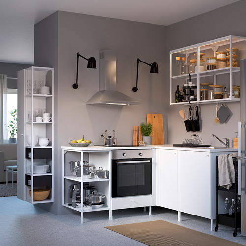 ENHET - 角位廚房, 白色 | IKEA 香港及澳門 - PE783178_S4