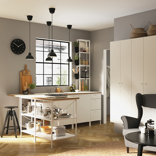 ENHET - 高櫃連4層板/門, 白色 | IKEA 香港及澳門 - PE783196_S4