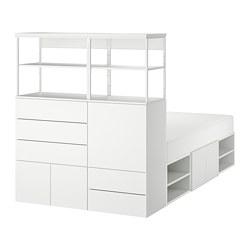 PLATSA - 床架連5道門及5個抽屜, 白色/Fonnes 白色   IKEA 香港及澳門 - PE783241_S3