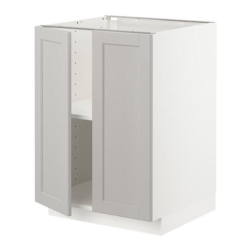 METOD - base cabinet with shelves/2 doors   IKEA Hong Kong and Macau - PE726611_S4