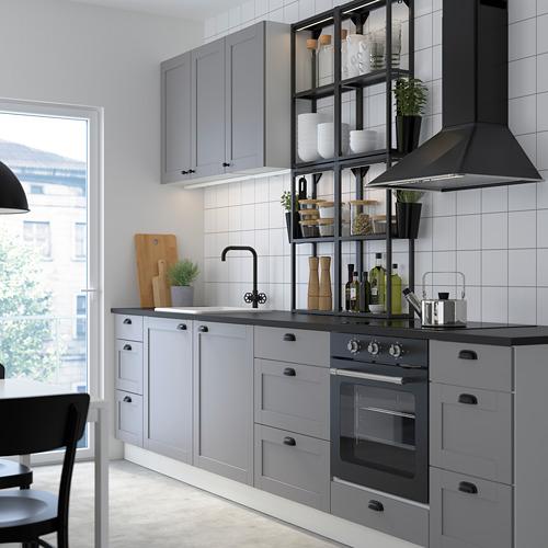 SKYDRAG - LED櫃台板抽屜燈附感應器, 可調式 炭黑色   IKEA 香港及澳門 - PE783257_S4