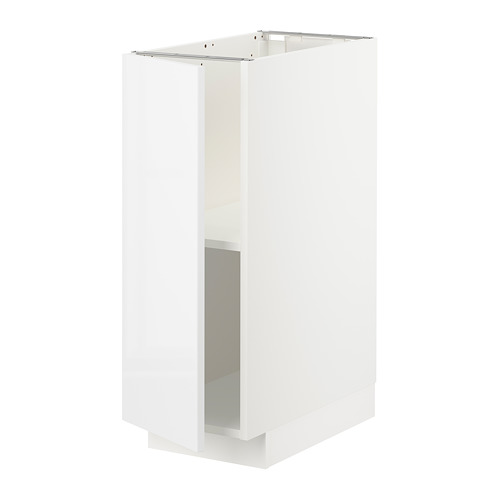 METOD - base cabinet with shelves, white/Ringhult white | IKEA Hong Kong and Macau - PE726718_S4