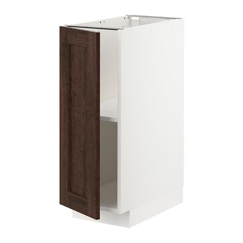 METOD - 地櫃連層板, 白色/Edserum 褐色 | IKEA 香港及澳門 - PE726743_S4