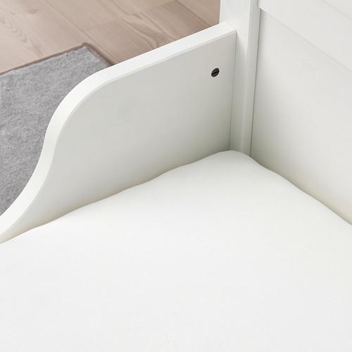 LEN - fitted sheet, white   IKEA Hong Kong and Macau - PE770820_S4