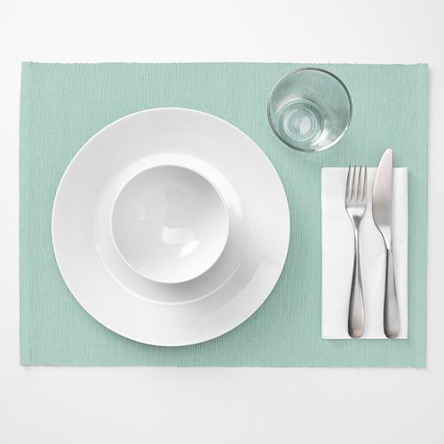 UTBYTT - 餐墊, 淺湖水綠色 | IKEA 香港及澳門 - PE658285_S4
