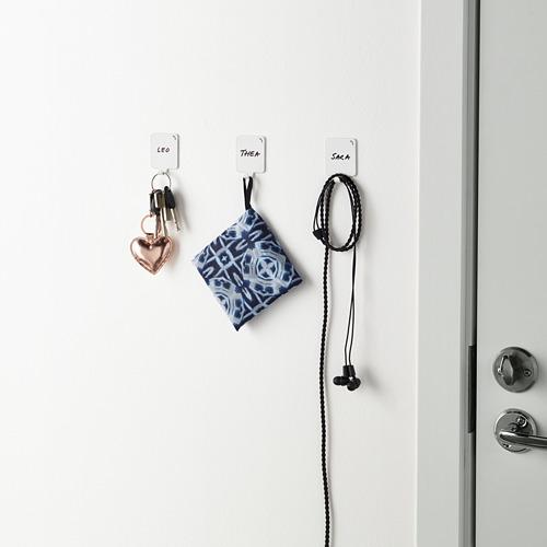 PLUTT - 黏貼式掛鈎, 白色 | IKEA 香港及澳門 - PE646667_S4