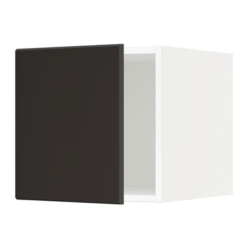 METOD - top cabinet, white/Kungsbacka anthracite | IKEA Hong Kong and Macau - PE635612_S4