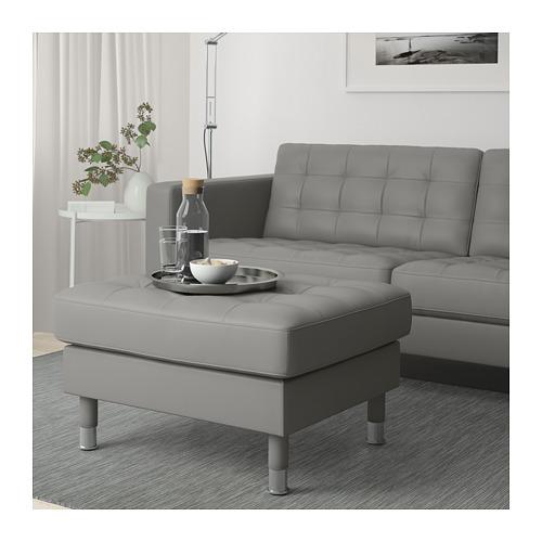 LANDSKRONA - 腳凳, Grann/Bomstad 灰綠色/金屬 | IKEA 香港及澳門 - PE684237_S4