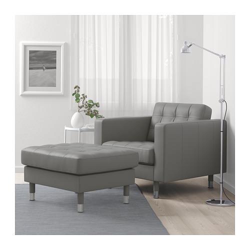 LANDSKRONA - 腳凳, Grann/Bomstad 灰綠色/金屬 | IKEA 香港及澳門 - PE684236_S4