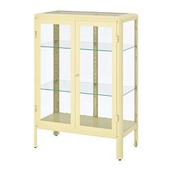 FABRIKÖR - 玻璃門貯物櫃, 淺黃色 | IKEA 香港及澳門 - PE770907_S3