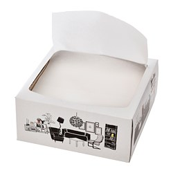 FAMILJ - 餐紙巾, 白色 | IKEA 香港及澳門 - PE770921_S3