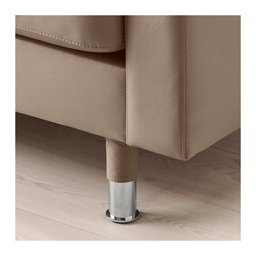 LANDSKRONA - 5-seat sofa, with chaise longues/Grann/Bomstad dark beige/metal | IKEA Hong Kong and Macau - PE684264_S4