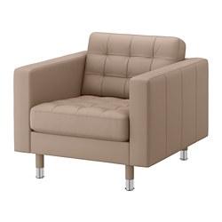 LANDSKRONA - armchair, Grann/Bomstad dark beige/metal | IKEA Hong Kong and Macau - PE684263_S3