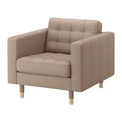 LANDSKRONA - armchair, Grann/Bomstad dark beige/wood | IKEA Hong Kong and Macau - PE684267_S3