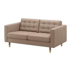 LANDSKRONA - 2-seat sofa, Grann/Bomstad dark beige/wood | IKEA Hong Kong and Macau - PE684289_S3