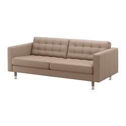 LANDSKRONA - 三座位梳化, Grann/Bomstad 深米黃色/金屬 | IKEA 香港及澳門 - PE684292_S3