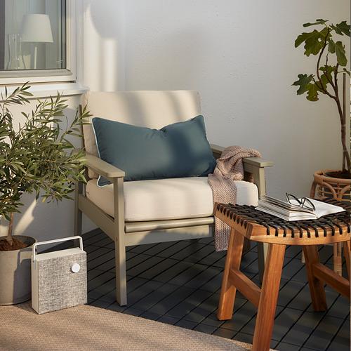 BONDHOLMEN - armchair, outdoor, grey stained | IKEA Hong Kong and Macau - PH168806_S4