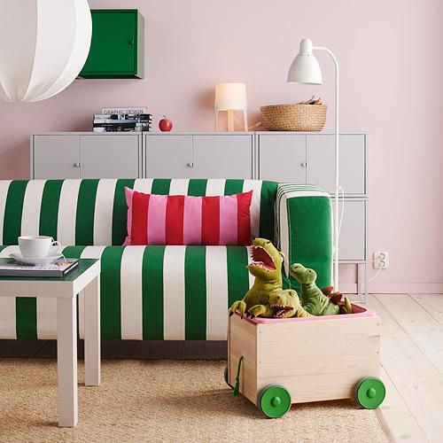 KLIPPAN - 2-seat sofa, Radbyn green/white | IKEA Hong Kong and Macau - PH173136_S4