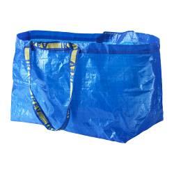 FRAKTA - 購物袋,大, 藍色 | IKEA 香港及澳門 - PE202617_S3