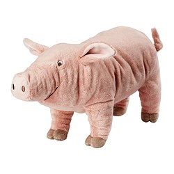 KNORRIG - 毛公仔, 豬/粉紅色 | IKEA 香港及澳門 - PE362753_S3