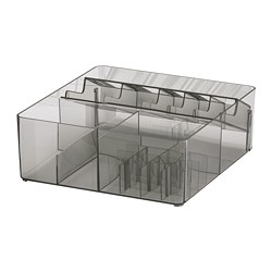 GODMORGON - box with compartments, smoked | IKEA Hong Kong and Macau - PE684325_S3