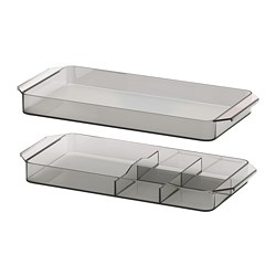 GODMORGON - storage unit, set of 2, smoked | IKEA Hong Kong and Macau - PE684336_S3