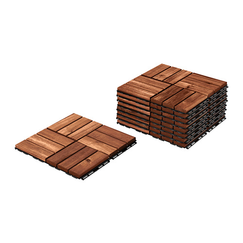 RUNNEN - floor decking, outdoor, brown stained | IKEA Hong Kong and Macau - PE726855_S4