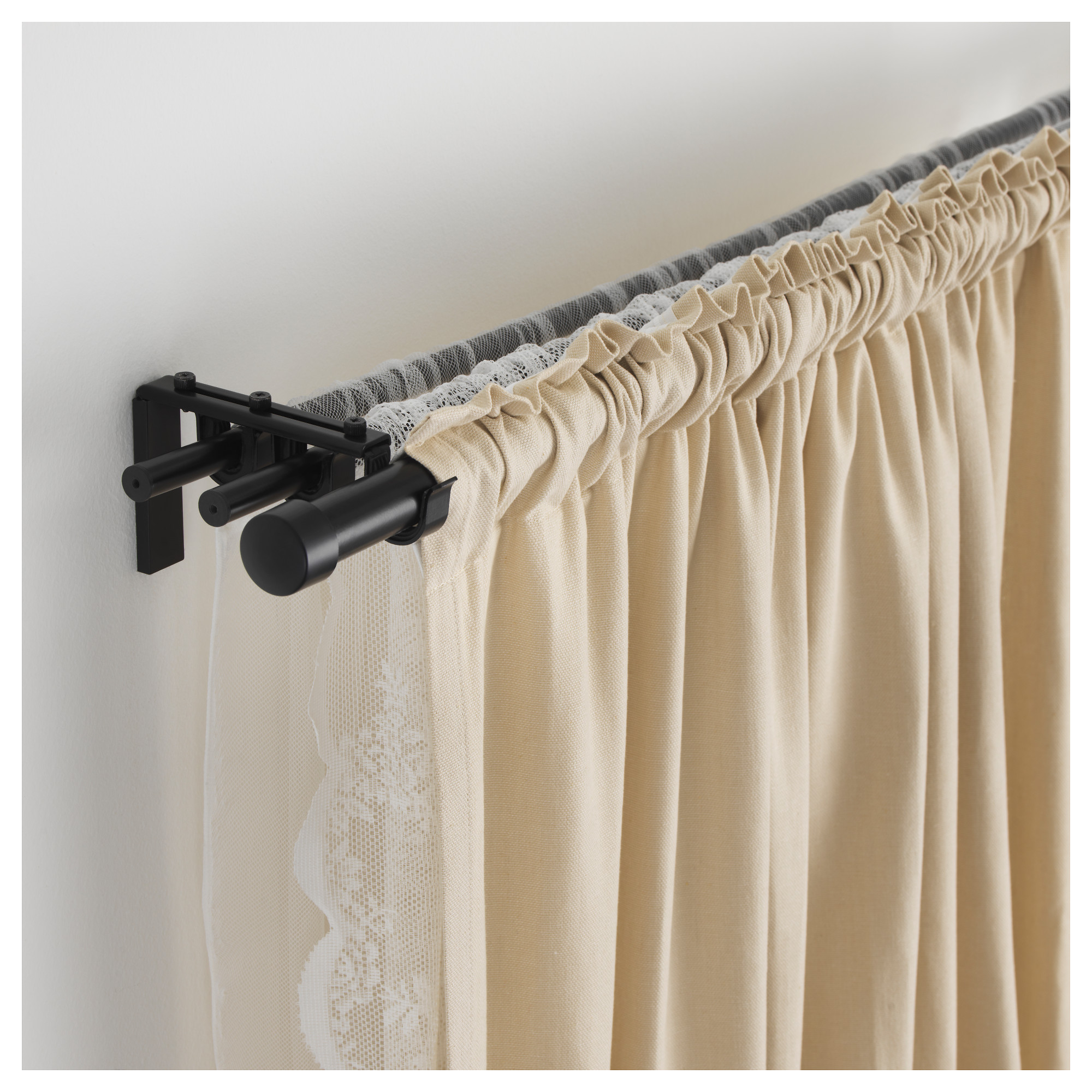 Racka Curtain Rod Black Ikea Hong Kong