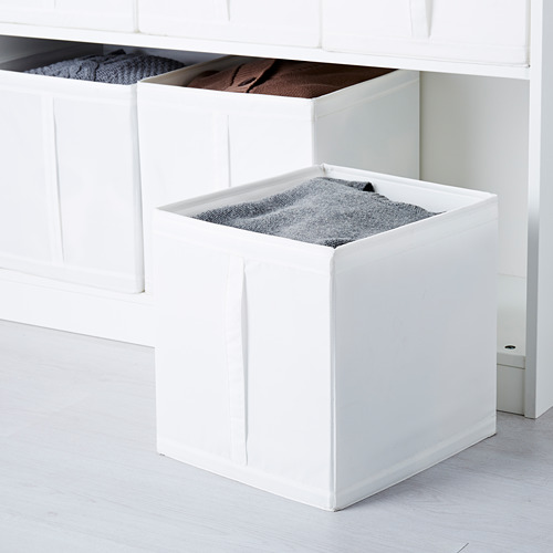 SKUBB - box, 31x34x33 cm, white   IKEA Hong Kong and Macau - PE578021_S4