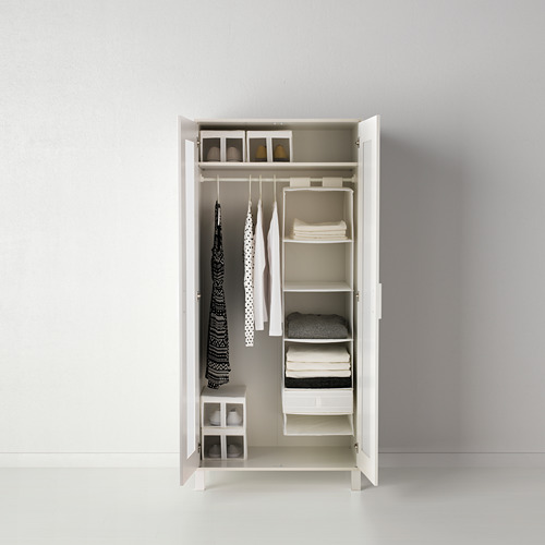 SKUBB - storage with 6 compartments, 35x45x125 cm, white | IKEA Hong Kong and Macau - PE386047_S4