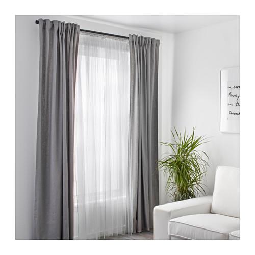 LILL - net curtains, 1 pair, white | IKEA Hong Kong and Macau - PE569661_S4