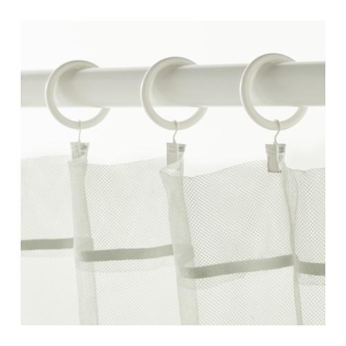 SYRLIG - 窗簾環連掛鈎及夾, 白色 | IKEA 香港及澳門 - PE569689_S4